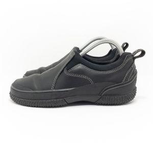 L.L. Bean Black Low Slip-on Rain Boot